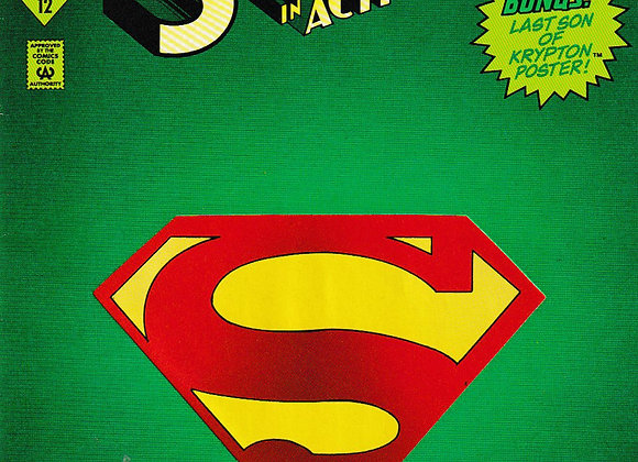 Reign Of The Supermen - Superman In Action Comics Issue/ # 687 DC Comics