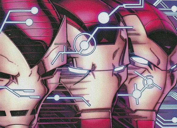 Tony Stark Iron Man Issue/ # 16 Immortal Variant Wraparound Marvel Comics