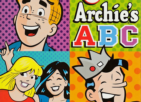 Archie's ABCs Board Book - Comics Collectables - Toys
