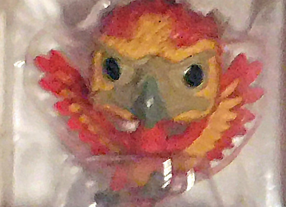 Funko Pocket POP Harry Potter: Fawkes Keychain - Yule Ball - Collectable -