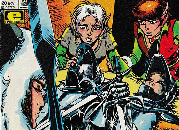 Elf Quest Vol 2 Issue/ # 28 Marvel Comics - Comics