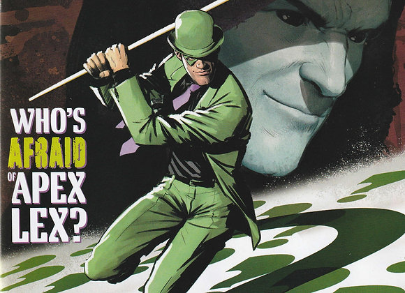 The Riddler Issue/ # 1 Who's Afraid Of Apex Lex DC Comics - Comics