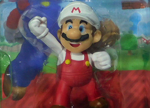 Nintendo World Super Mario Fire Mario Mini Figures