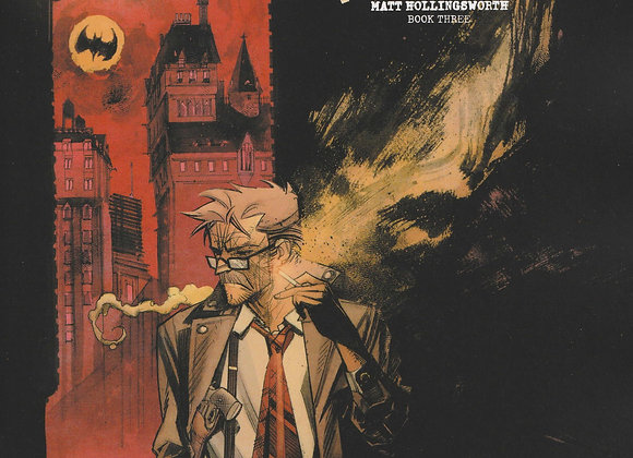Batman Cruse Of The White Knight Issue/ # 3 Gordon Variant DC Comics - Comics