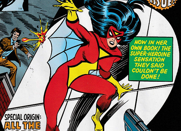 The Spider-Woman Issue/ # 1 To know Her Is To Fear Her Marvel Comics - Comics