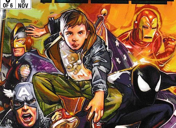 1985 Issue/ # 6 Marvel Comics -Comics