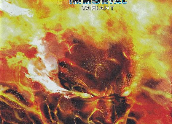 Fantastic Four 4 Issue/ # 14 Human TorchWraparound Immortal Variant Edition