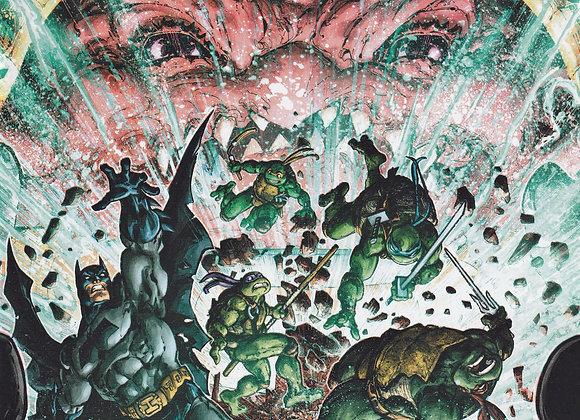 Batman & Teenage Mutant Ninja Turtles Series 3 Issue/ # 5 IDW/ DC Comics