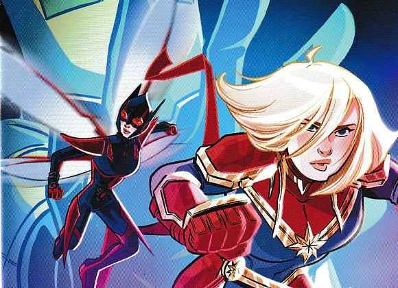 Marvel Action Captain Marvel Issue/ # 6 Marvel/IDW Comics - Comics