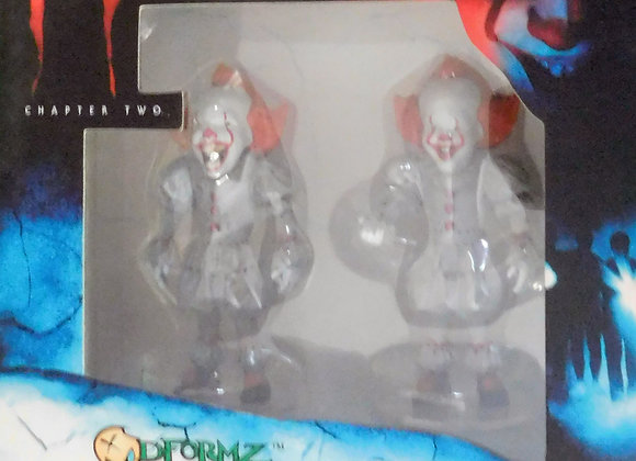 IT Chapter 2 Movie Pennywise 2pk Figures D-Formz - Collectables
