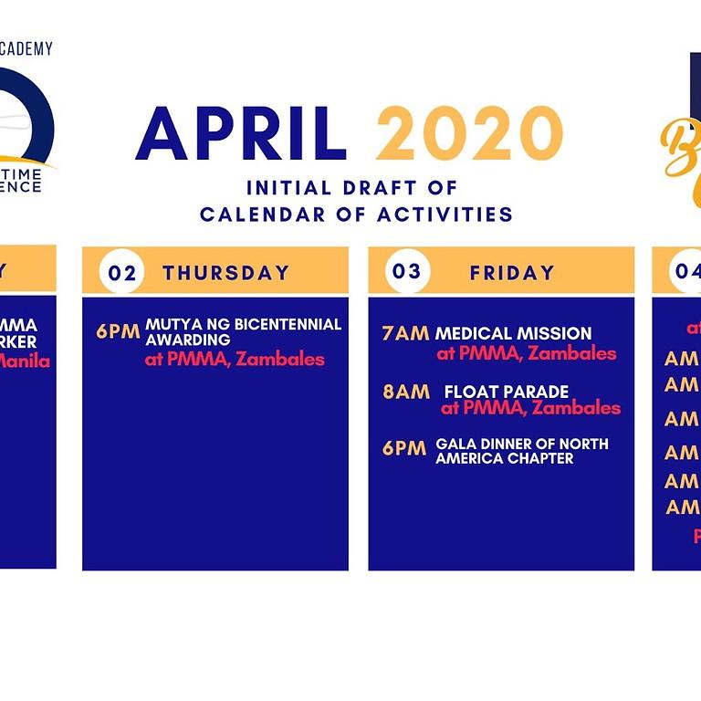 PMMA Bicentennial Celebration 2020