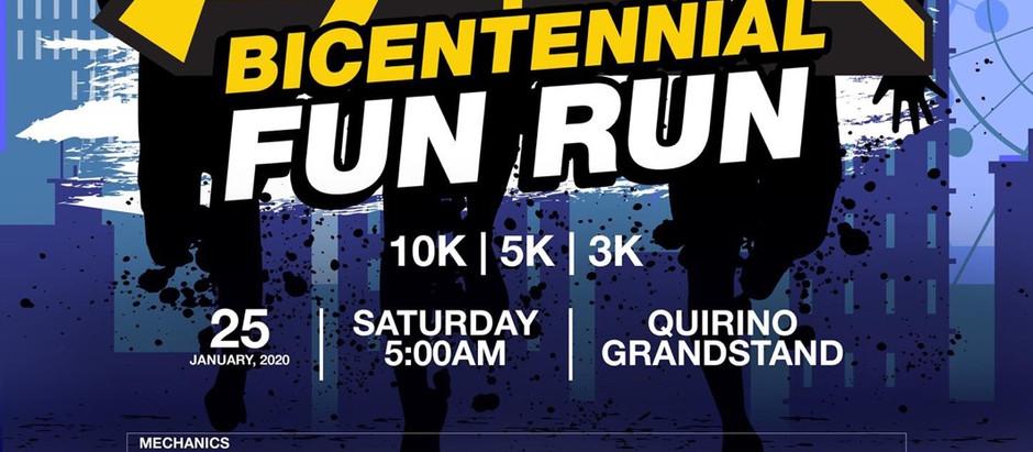 PMMA Bicentennial Fun Run 2020