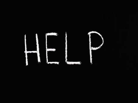 It's ok to ask for help