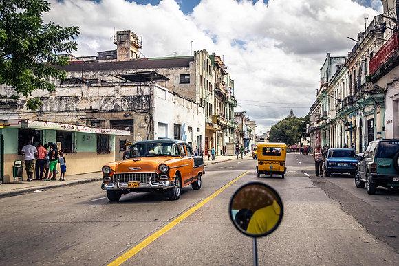 Coconut Cab in Cuba