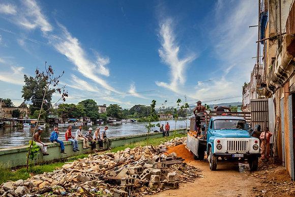 River Work in Matanzas