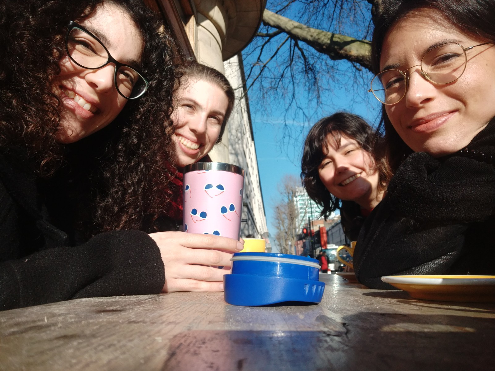 coffe in the sun