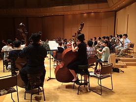 """エウテルペ楽奏団  Symphonia """"EUTERPE"""" 交響曲第2番「賛歌」のリハーサル風景 声楽、合唱との共演  euterpe"""