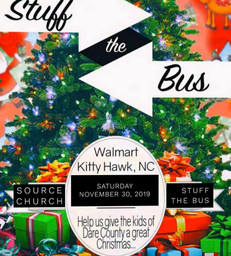 Stuff the bus  - Source Church Manteo Co