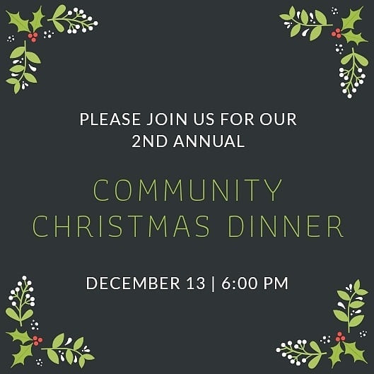Community Christmas Dinner - Source Chur