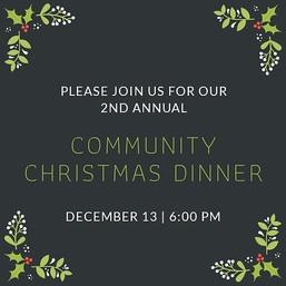 Community Christmas Dinner - Source Chur