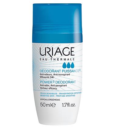 Uriage Desodorante Corporal Potencia 3  50ml.