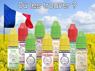 E-liquides Bio Français pas chers : Où les trouver ?