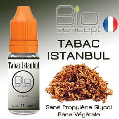 Eliquide BIO CONCEPT TABAC ISTANBUL 10ml