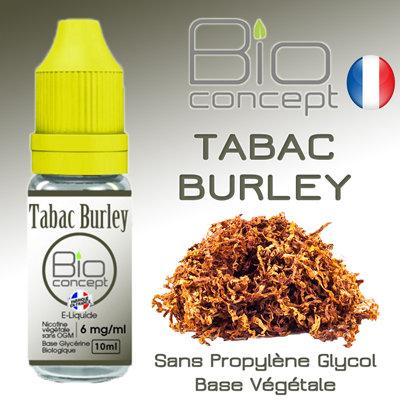 Eliquide BIO CONCEPT TABAC BURLEY 10ml