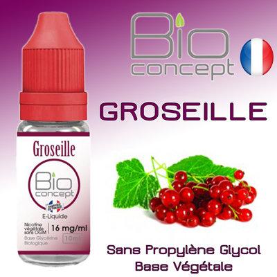 Eliquide BIO CONCEPT GROSEILLE 10ml