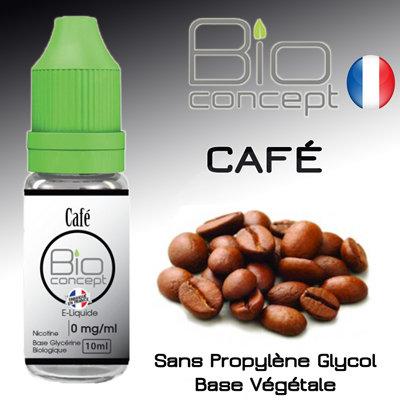Eliquide BIO CONCEPT CAFE 10ml