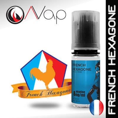 AVAP FRENCH HEXAGONE - E-liquide Tabac brun 10ml