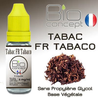 Eliquide BIO CONCEPT TABAC FR TABACO 10ml