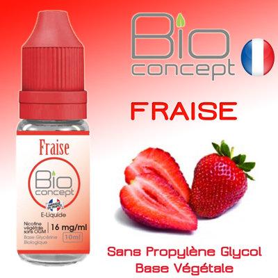 Eliquide BIO CONCEPT FRAISE 10ml