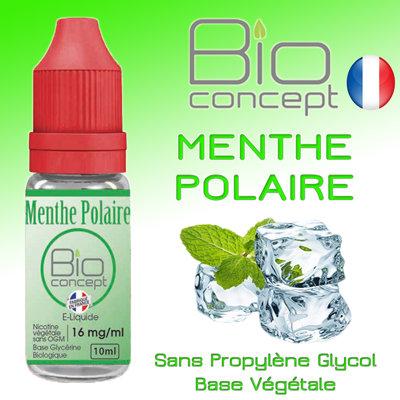 Eliquide BIO CONCEPT MENTHE POLAIRE 10ml