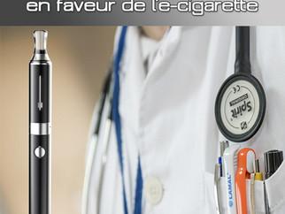 L'appel de 100 médecins pour soutenir l'e-cigarette dans la lutte anti-tabac
