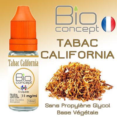Eliquide BIO CONCEPT TABAC CALIFORNIA 10ml