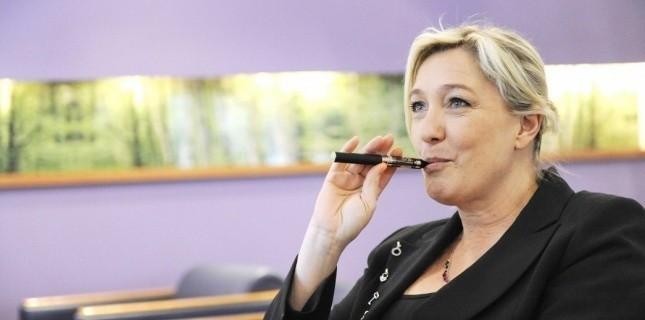 Marine Le Pen vapote t-elle Made in France ? - Blog du vapoteur sur www.echantillons-eliquides.com
