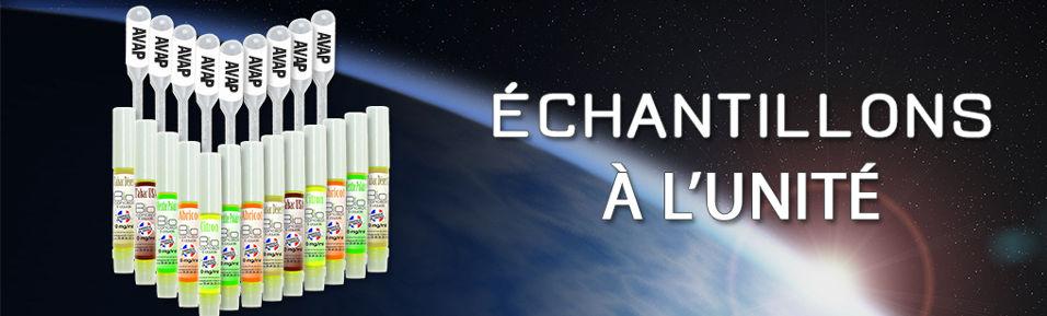 Echantillons e-liquides 2ml à l'unité : 55 saveurs à 1,29€