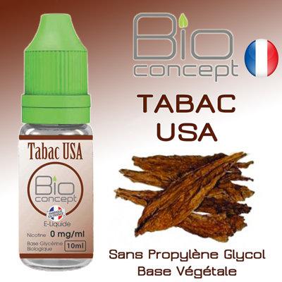 Eliquide BIO CONCEPT TABAC USA 10ml