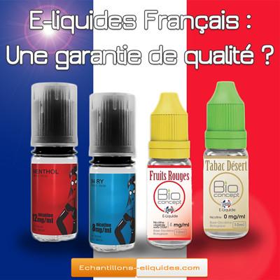 E-liquides Français : Le Made in France est-il une garantie de qualité ?