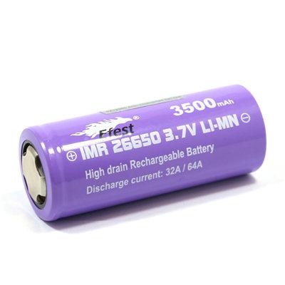 Accu EFEST 26650 - 3500 mAh - 64A