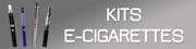 Kits e-cigarettes : Kanger, Aspire, Ke-Vod...