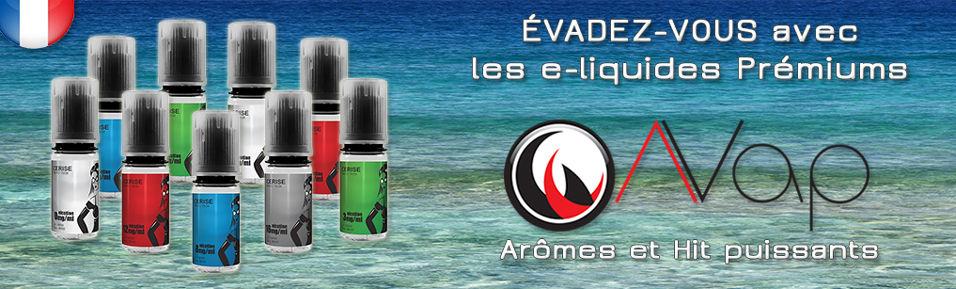 E-liquides Prémiums AVAP à 4,99€