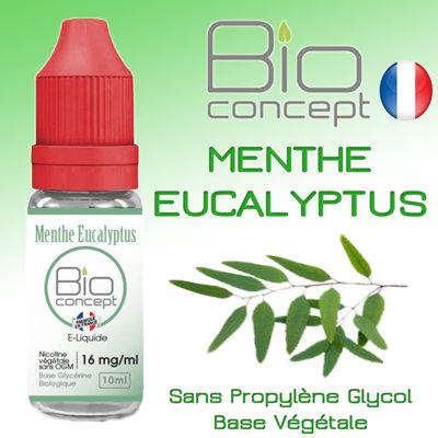 Eliquide BIO CONCEPT MENTHE EUCALYPTUS 10ml