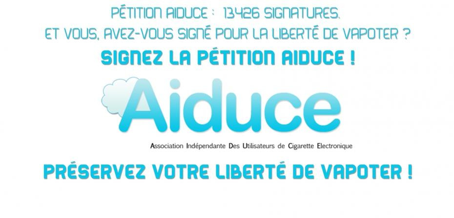L'AIDUCE se mobilise contre la future Directive Européenne sur la cigarette électronique - Blog du vapoteur sur www.echantillons-eliquides.com