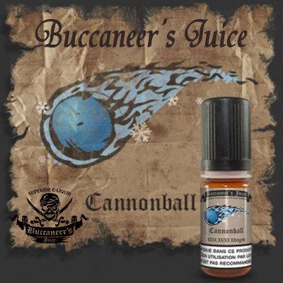 E-liquide BUCCANEER'S JUICE CANNONBALL - 10ml