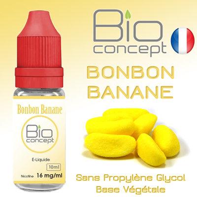Eliquide BIO CONCEPT BONBON BANANE 10ml
