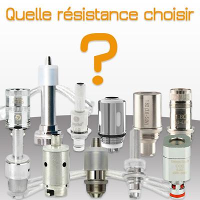 Chosir la résistance pour son clearomiseur : BCC, BDC, BVC, OCC, CE4…