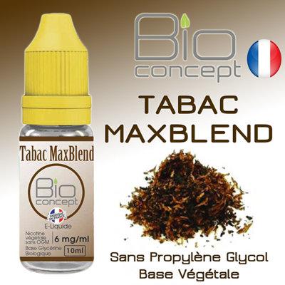 Eliquide BIO CONCEPT TABAC MAXBLEND 10ml