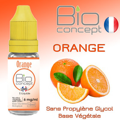 Eliquide BIO CONCEPT ORANGE 10ml